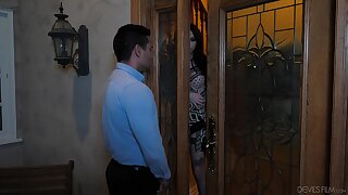 Dude has a prurient affair with a well done transsexual slut Annabelle Lane
