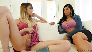 Alexa Scout is a splendid transsexual slut with a intelligent appetite for sex