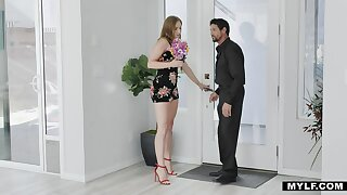 Hot tempered milf Skylar Snow bangs will not hear of experienced lover like a sex-crazy nympho