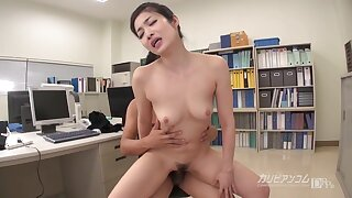 Ol Employer Ryu Eba Non-existence To Be Buried In The Butt Jav Mature